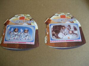 "MONGOLIA   2005  CHINESE ""SHENZHOU VI' OUTER  SPACE FLIGHT   SOUVENIR SHEET (2)"