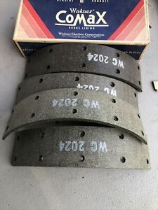 1955 Hudson wasp front brake lining set  in box 2020 4D
