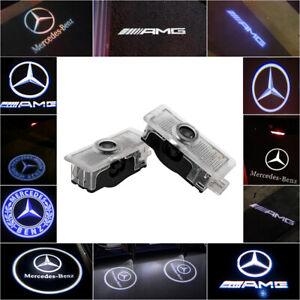 Cree LED Projector Car Door Light Courtesy Entry logo light UK For Mercedes-Benz