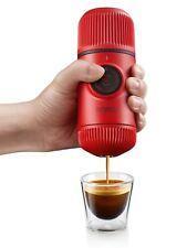 Nanopresso Rosso PATTUGLIA portatile Macchina per Caffè Espresso Caffettiera GADGET all'aperto