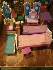 Lot of Wooden Dollhouse Furniture Wood