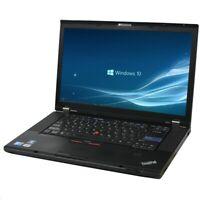 FAST Lenovo Thinkpad W510 Laptop for Home Core i7 8GB RAM 128GB SSD Windows 10