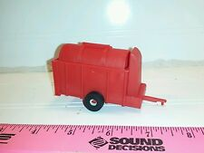 1/64 ertl farm toy red standi toys hay straw corn stalk stacker single tire