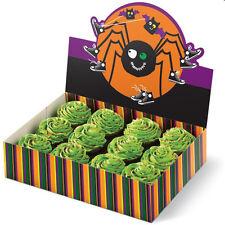 Halloween Spider Fun Colorful Cupcake Box Holder