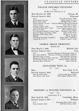 1918 Phillips Andover Academy Yearbook~Photos~The Great War~Humphrey Bogart~++++