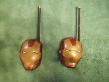 MARVEL's IRON MAN WALKIE TALKIES    AVENGERS   Ultron     SHELLHEAD