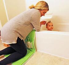 Baby Bath Kneeling Safety Pad & Storage - Bathtub Kneeler & Elbow Cushion