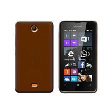Cover per Nokia Lumia 430 Dual SIM, in silicone TPU trasparente Nero