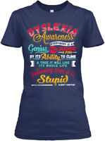 Ition Dyslexia Awareness - Everybody Is A Genius But Gildan Women's Tee T-Shirt