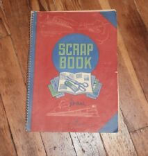 1940s Scrap Book Clippings from Magazines and Book Reports Anne of Green Gables