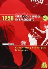 USED (LN) 1250 Ejercicios y Juegos de Baloncesto - 3 Tomos (Spanish Edition)