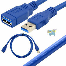 10Gbps USB 3.1 A Male to A Female Extension Fast Speed Cable Cord Metal Adaptors