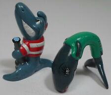 Unillever 2002 Sailor Sharks 1.5'' Set Of 2 Plastic Figures Figurines