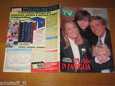 TV SORRISI E CANZONI=1993/41=ELEONORA GIORGI=MASSIMO CIAVARRO=THE BEATLES LEGEND