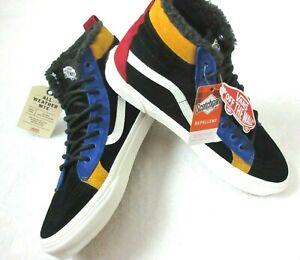 Vans Mens Sk8-Hi 46 Mte Dx All Weather Skate shoes Black Surf The Web Size 10.5