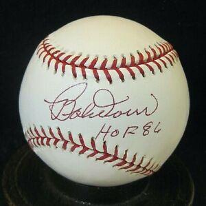 Bobby Doerr #1 Signed OML Baseball, JSA Certified w/HOF'86 Boston Red Sox d.2017