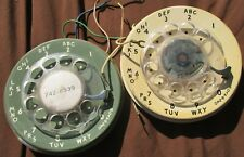 LOT OF 2 - UNTESTED- 1963 Western Electric & 1969 unbranded Phone Rotary Dials