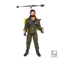 Original Brazilian Articulate Doll GI Joe Falcon Turbocopter Estrela