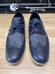Cole Haan Dress Casual Shoes Size 13 Navy Blue