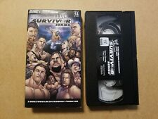 SURVIVOR SERIES 2004 04 VHS VIDEO WCW WRESTLING WWF WWE