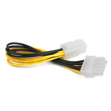 4-Pin to 8-Pin EPS 12V ATX Motherboard Power Supply Adapter Converter Cable