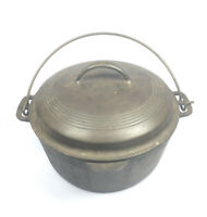 Vintage Cast Iron Cook Pot w/ Lid (Wagner Ware Sidney 0 1269 B?) Please Read
