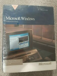 "NEW SEALED Microsoft Windows 3.0 Operating System 3.5"" Floppy Discs"