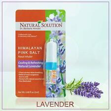 Natural Himalayan Salt Air Inhaler for Respiratory Wellness Asthma Allergy COPD