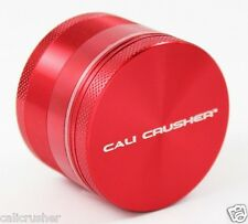 Cali Crusher Herb, Tobacco and Spice Grinder 2 Inch 4 Piece Aluminum New Red