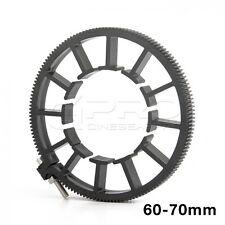 CINEMATICS 60-70mm 0.8 Film Pitch Mod Adjustable Follow Focus Lens Gear Ring