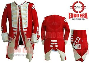 NAPOLEONIC BRITISH 40TH REGT OF FOOT SERGEANT Military Jacket With Waistcoat