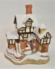 Vintage 1987 David Winter Ebenezer Scrooges House Cottage Figurine Christmas Col