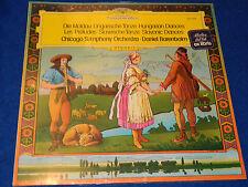 sealed LP Vinyl HUNGARIAN DANCES slavonic CHICAGO ORCHESTRA daniel BARENBOIM