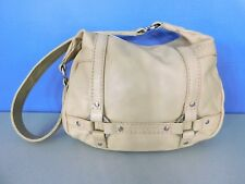 STONE & CO BEIGE LEATHER SHOULDER BAG, HANDBAG, PURSE