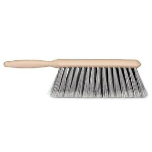 "lot of 2-MULTI-PURPOSE 13 BENCH CLEANING BRUSH WOODLIKE HANDLE 8.5""X3"" BRISTLES"