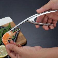 Stainless Steel Prawn Peeler Shrimp Deveiner Peel Device Creative Tools