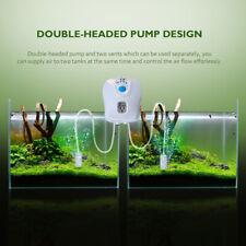 USB Ultra Silent Air Pump Fish Tank Aquarium Oxygen Pond Stone Bubble Water Aqua