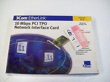 3COM 3C900B-TPO 10MBPS PCI TPO NETWORK INTERFACE CARD - NIB - FREE SHIPPING!