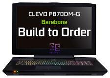 Barebone 17,3 IPs Clevo p870dm-g MXM 3.0b W/o CPU VGA RAM HDD + incl. SLI kit ✔