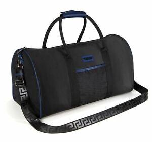 VERSACE Black Sports Bag / Travel / Weekender / College / Gym / Executive