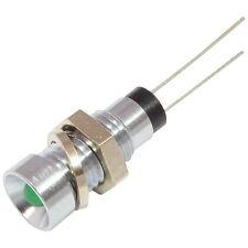 Vossloh LED Signalleuchte WU-I-G3 Innenreflektor chrom mit 3mm LEDs grün 858753