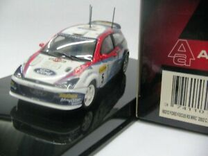 WOW EXTREMELY RARE Ford Focus RS WRC McRae M.Carlo 2002 1:43 Auto Art-Minichamps