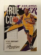 Kobe Bryant #64/75 True Colors Jersey 2014-15 Panini Prestige NBA Lakers