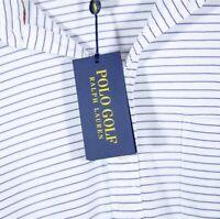 Polo Golf Ralph Lauren Shirt Size XL White  Purple Stripe MSRP $90 NWT