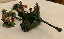 WWII Britische Artillerie von FRONTLINE (echte 54 mm) Figuren 1:32