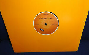 THE ORANGE Somewhere In A Field RARE HOUSE 12 INCH acid trance 1991 Juan Atkins