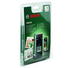 Bosch Laser Rangefinder Measurer PLR 15 Digital Distance Meter LED Screen