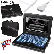 Medical Digital Ultrasound Machine Scanner Convex & Transvaginal 2 Probes,FDA CE