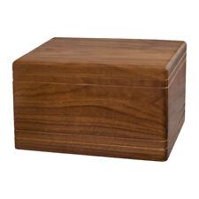 Wood Cremation Urn (Wooden Urns) - Walnut Boxwood