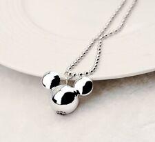 Disney Mickey Mouse Jewellery Pendant Chain Set & Gift Bag-  (UK Seller)